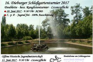 Dieburger Schloßgartenturnier 2017